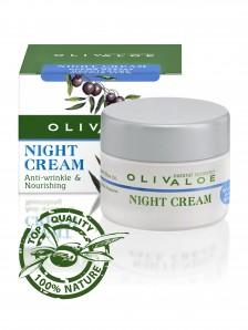Olivaloe - Anti-Wrinkle & Nourishing Night Cream