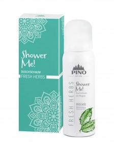 Pino Shower Me - Duschschaum Fresh Herbs - 75 ml