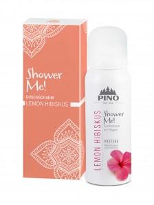 Pino Shower Me - Duschschaum Lemon Hibiscus - 75 ml