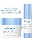 La Mer Aqua Base Duo Feuchtigkeitspflege Reichhaltig + Feuchtigkeitsserum